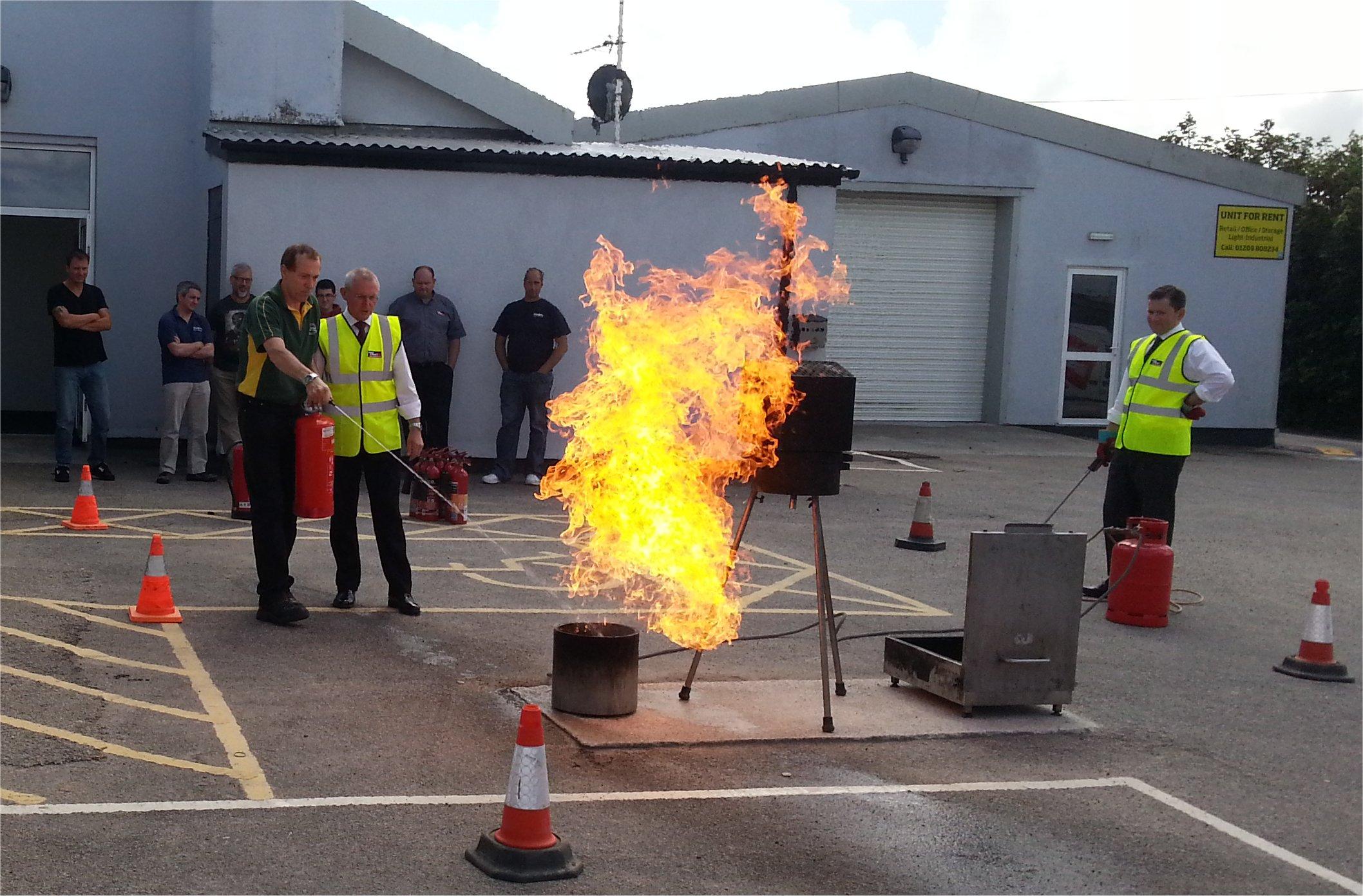 Odborná príprava členov protipožiarnych hliadok
