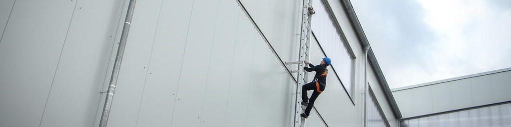 Rebrík na stavbe - kontrola