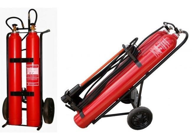 Pojazdný hasiaci prístroj