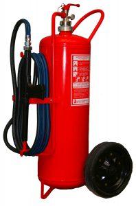Prenosný hasiaci prístroj práškový