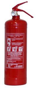 Prenosný hasiaci prístroj práškový 2kg