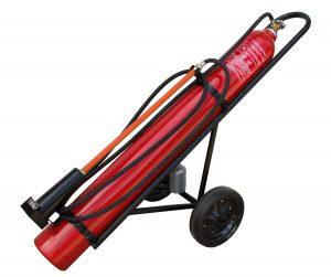 Pojazdný hasiaci prístroj snehový 1x30kg